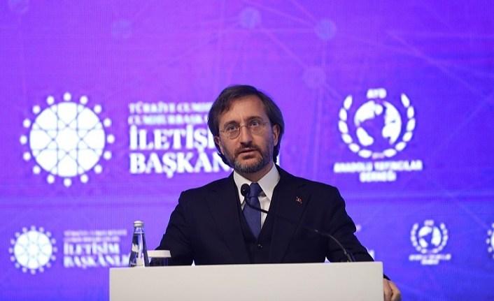 Fahrettin Altun Dijital Dünya Çalıştayı'nda konuştu