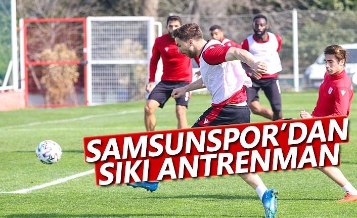 Samsunspor, Tuzlaspor Maçına Sıkı Hazırlanıyor