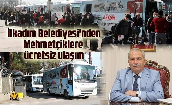 İlkadım Belediyesi'nden Mehmetçiklere ücretsiz ulaşım