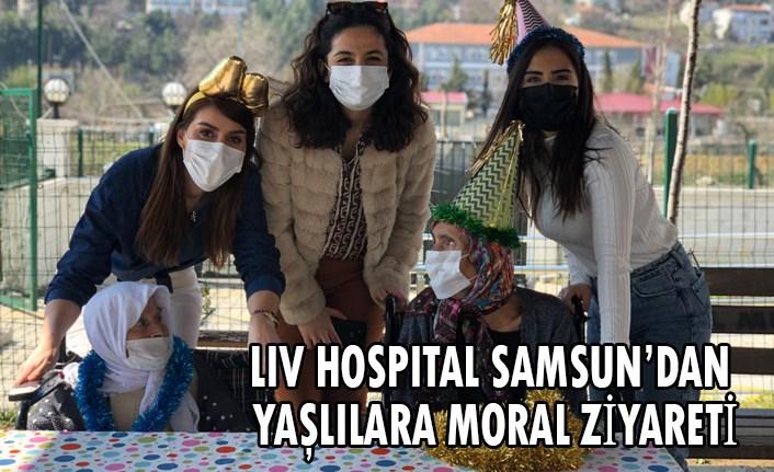 Liv Hospital Samsun'dan yaşlılara moral ziyareti