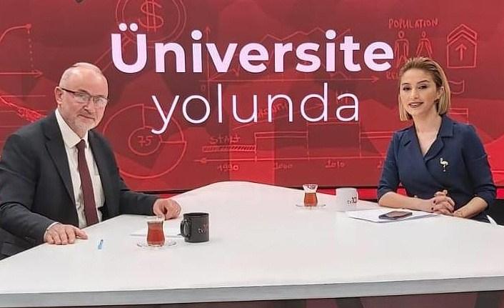 Rektör Ünal, Üniversite Adaylarına OMÜ'yü Anlattı