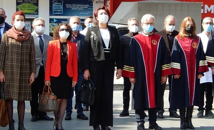 Sağlık Çalışanlarından Onur Anıtı'na Çelenk, Samsun Haber