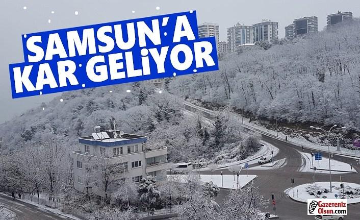 Samsun'a Kar Geri Geliyor , Samsun'a kar yağışı uyarısı!