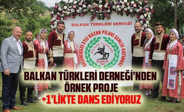 Samsun Balkan Türkleri Derneği'nden Atalarımın Dansı Projesi