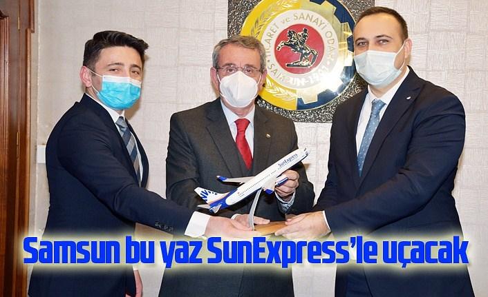 Samsun bu yaz SunExpress'le uçacak