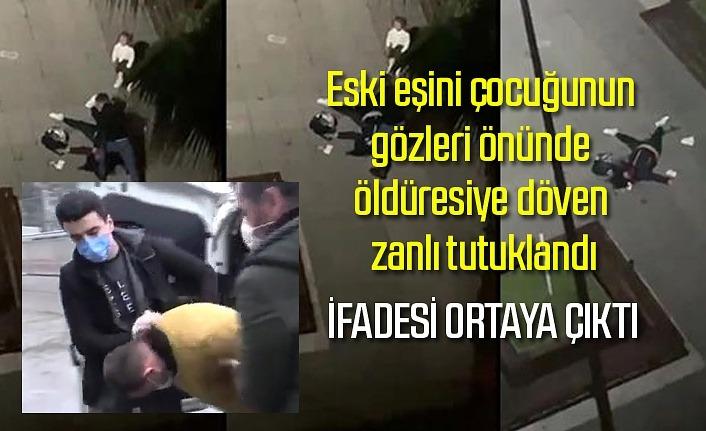 Samsun'da eski eşini döven zanlı tutuklandı