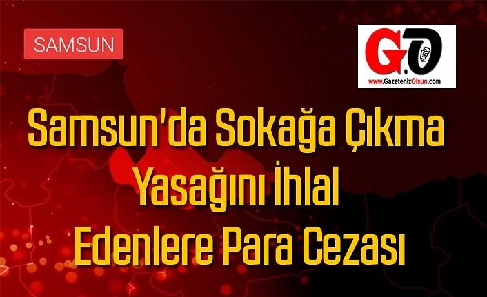 Sokağa Çıkma Yasağını İhlal Edenlere 373 bin 746 TL idari para cezası