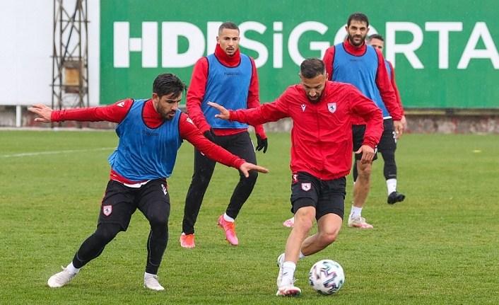 Samsunspor Altınordu maçı hazırlıklarına başladı