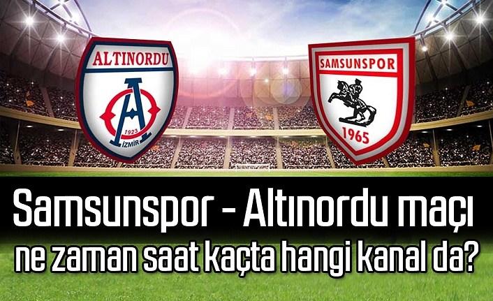 Samsunspor Altınordu maçı ne zaman saat kaçta? Samsunspor Puan Durumu