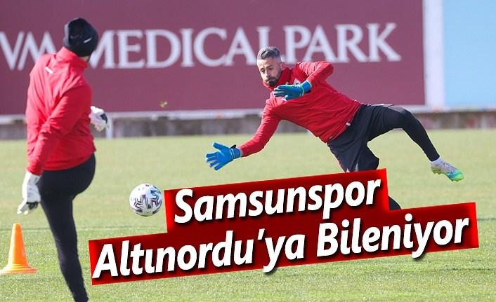 Samsunspor, Altınordu Maçına Hazırlanıyor