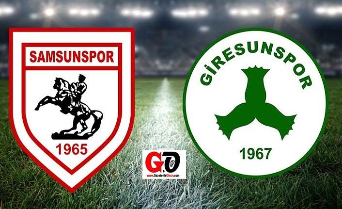 Samsunspor Giresunspor maçı Karadeniz Derbisi, yeni lider belli olacak