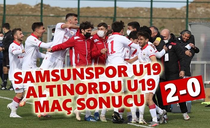 Samsunspor U19- Altınordu U19 Maç Sonucu 2-0