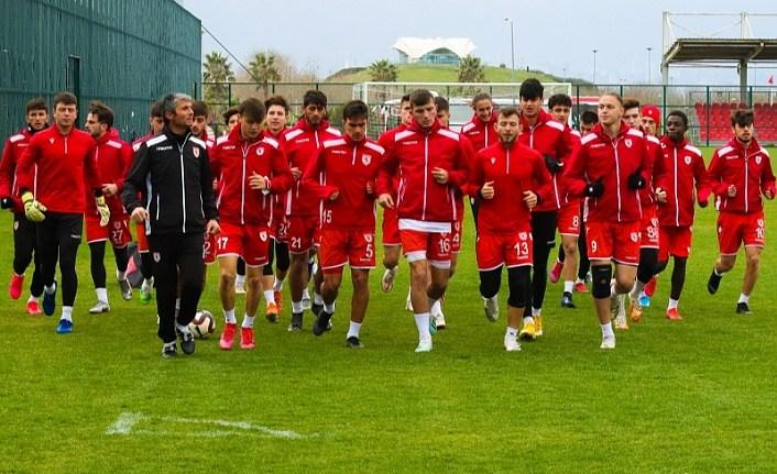 Samsunspor U19 Tuzlaspor maçına hazırlanıyor