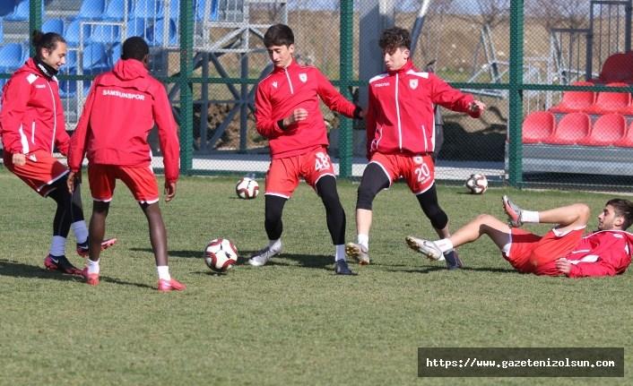 Samsunspor U19 hazırlıklarını tamamladı
