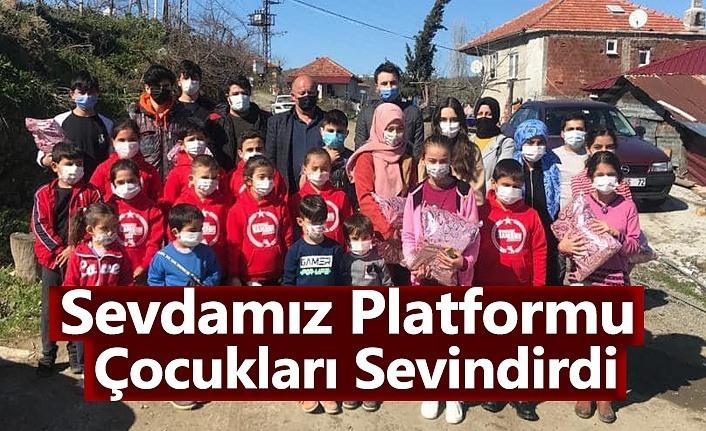 Sevdamız Platformu Çocukları Sevindirdi