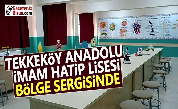 Tekkeköy Anadolu İmam Hatip Lisesi Bölge Sergisinde
