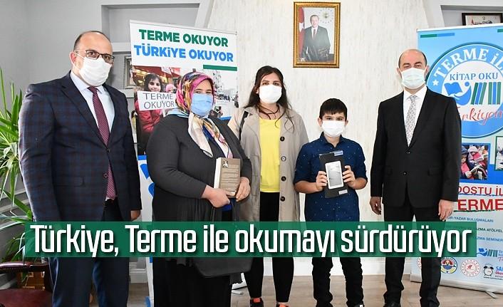 Terme İle Kitap Oku Türkiyem Kampanyası'na yoğun ilgi