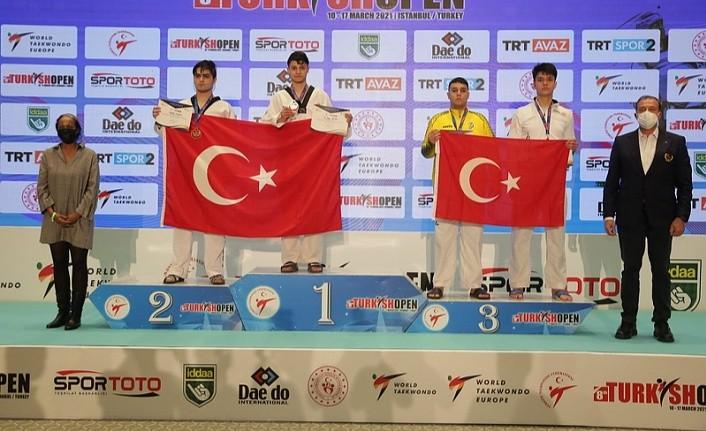 Turkish Open 2021'in beşinci günde 5 altın 5 gümüş