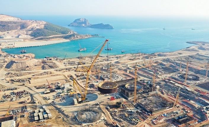 Türkiye'nin ilk nükleer güç santrali Akkuyu NGS