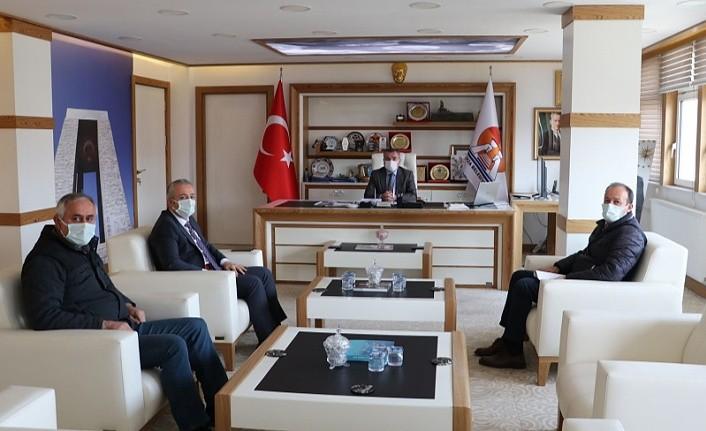 Vakıflar Bölge Müdürü'nden Başkan Özdemir'e ziyaret, Ali Erkan Öztürk kimdir?