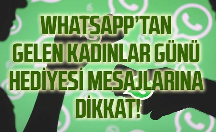 Whatsapp'tan hediye veriyoruz mesajlarına dikkat!