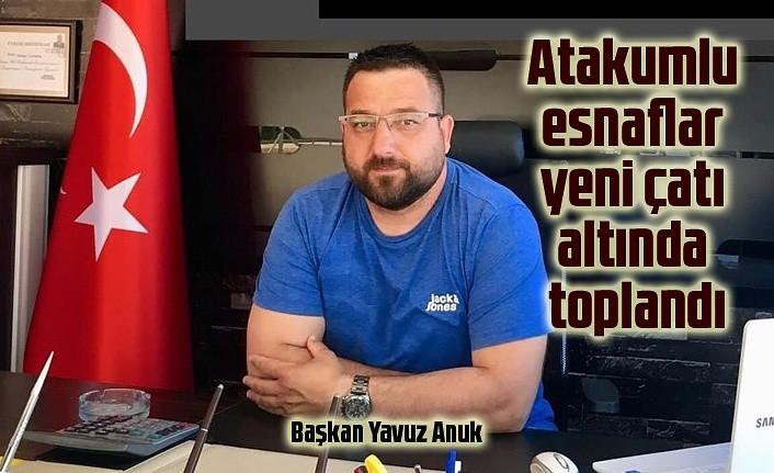 Yavuz Anuk Atakum Esnaf ve Dayanışma Derneği başkanı oldu
