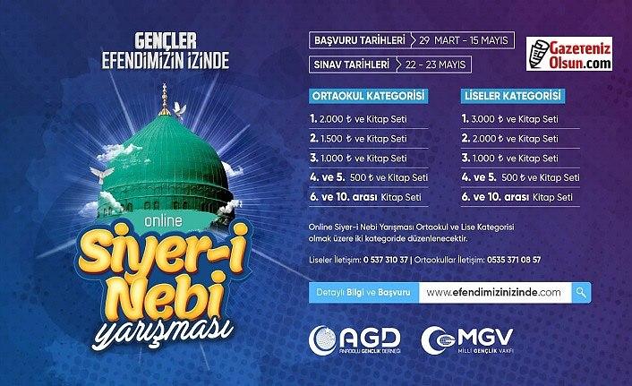 AGD online siyer-nebi yarışması düzenliyor