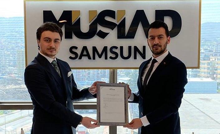 Ahmet Korkmaz Genç MÜSİAD Samsun başkanı oldu