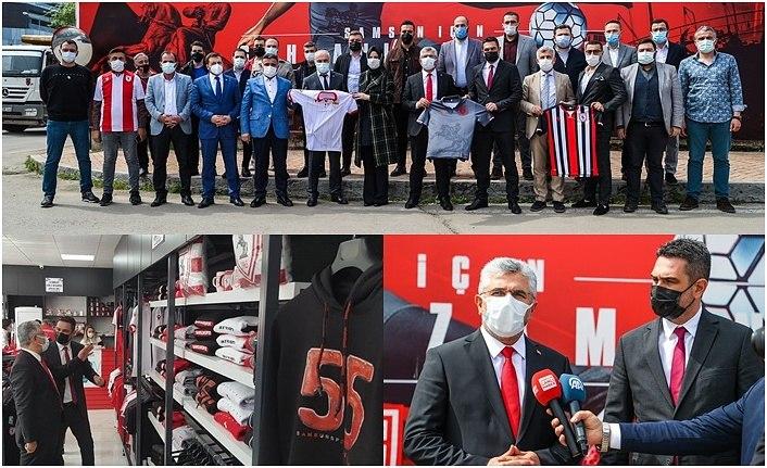 AK Parti Samsun'dan Yılport Samsunspor'a destek