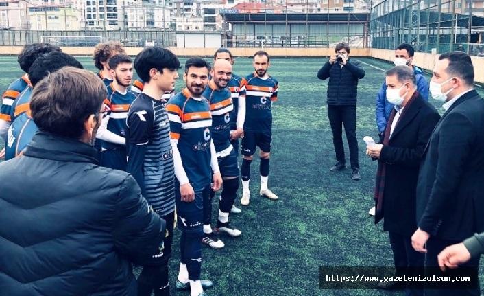 Atakum Belediyespor'da Salih Birli kalesinde devleşti
