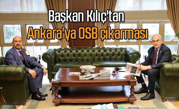 Başkan Kılıç, Terme'ye OSB kazandırmak için çalışıyor