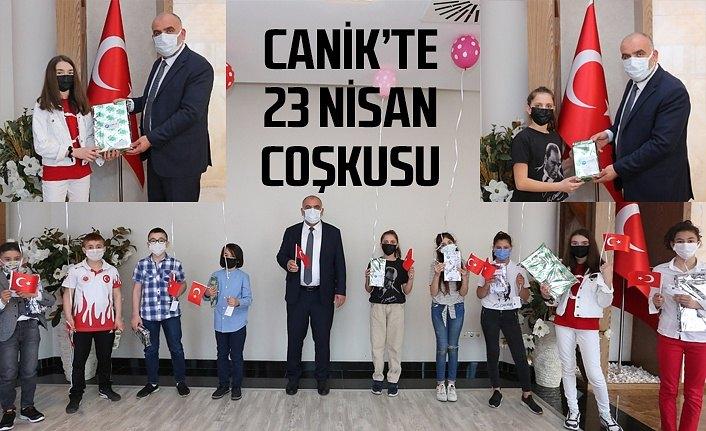 Canik Belediyesi'nde 23 Nisan coşkusu