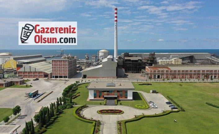Cevherden bakır elde eden tek fabrika Samsun'da