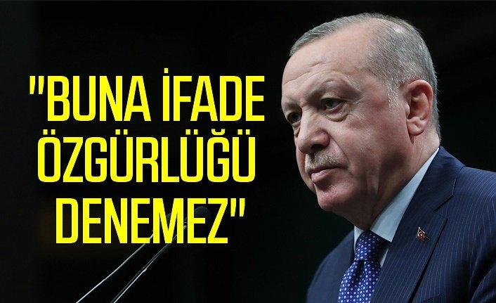 Cumhurbaşkanı Erdoğan'dan sert tepki: Kesinlikle art niyetli