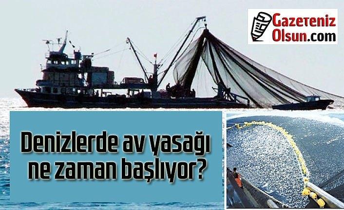 Denizlerde av yasağı ne zaman başlıyor? Trol avcılığı yasak mı?