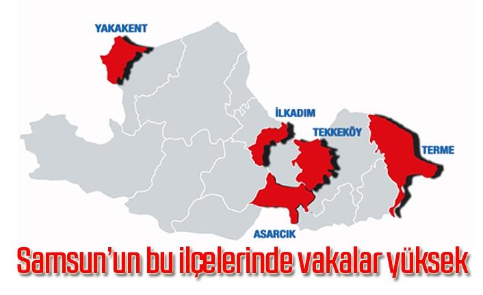 Koronavirüs hızı ve haftalık değişim tablosu yayınlandı - Samsun Haber