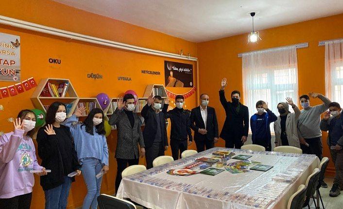 Samsun'da 17 İlçede 17 Kütüphane Projesi Başlatıldı