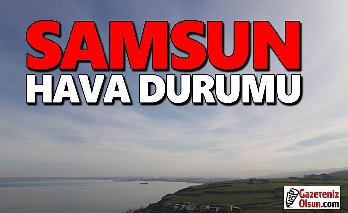 Samsun'da bugün Hava Nasıl Olacak!