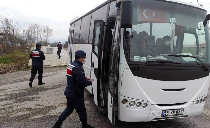 Samsun'da izolasyon kuralını ihlal edenlere para cezası