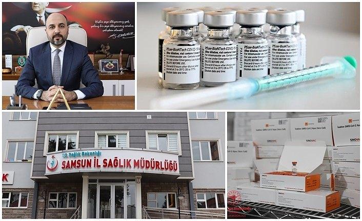 Samsun'da kaç kişi aşı oldu? Covid 19 Bilgi ve Danışma Hattı