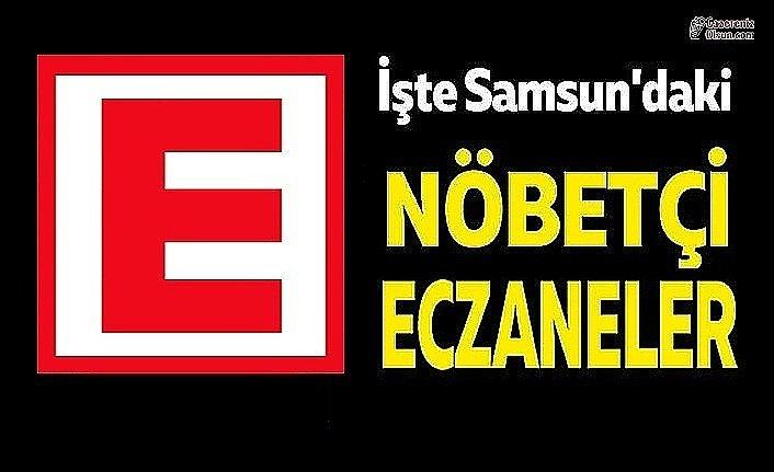 Samsun'da Nöbetçi Eczane Listesi- 16 Nisan Nöbetçi Eczaneleri