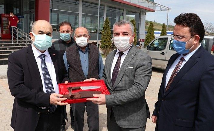Samsun Valisi Dağlı'dan Havza Belediyesi'ne ziyaret