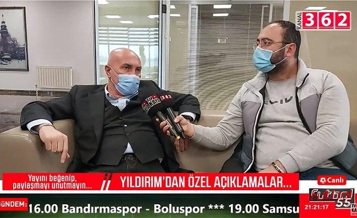 Samsunspor Başkanı Yüksel Yıldırım çok özel açıklamalarda bulundu
