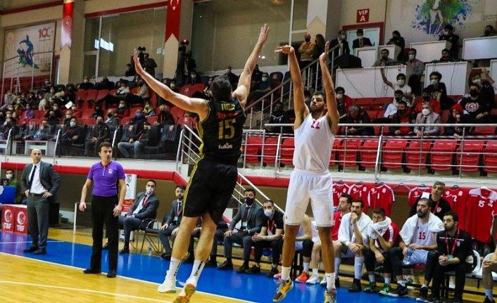 Samsunspor Basketbol - Akhisar Belediye Basketbol : 90 - 87