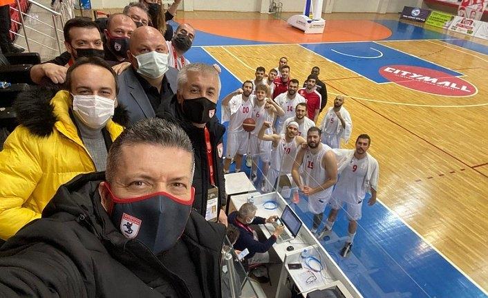 Samsunspor basketbol da fark atıyor