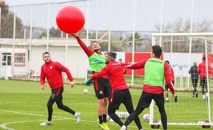 Samsunspor Boluspor hazırlıklarına başladı
