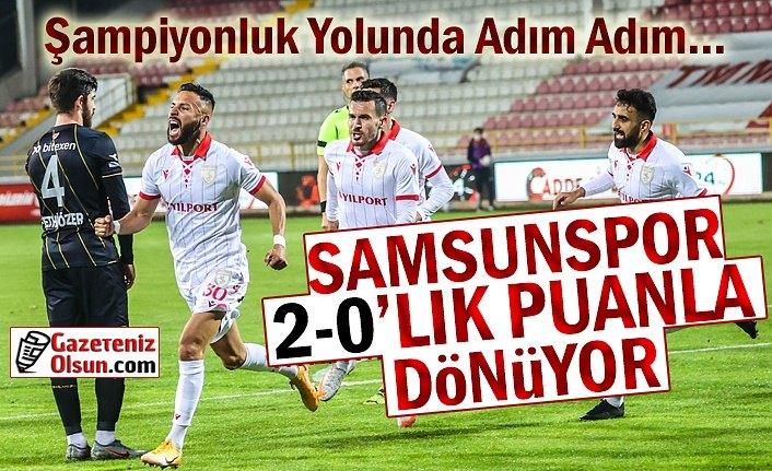 Samsunspor Boluspor'u 2-0 Yendi- Şampiyonluk Yolunda Adım Adım