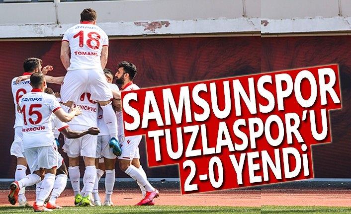 Samsunspor Deplasmanda Tuzlaspor'u 2-0 Yendi