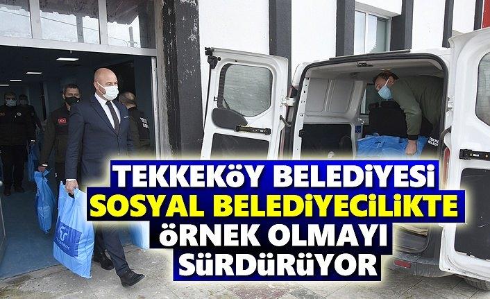 Tekkeköy Belediyesi'nden Örnek Belediyecilik- Samsun Haber