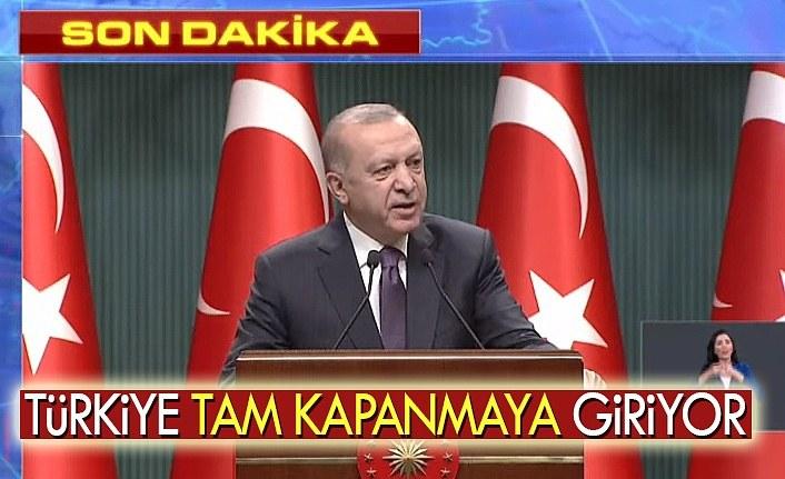 Türkiye tam kapanmaya gidiyor, tam kapanma nedir? tam kapanma detayları